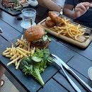 Wagyu Burger $24+, Fish & Chips $24+
