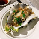 Plump, fresh, juicy oyster with garlic and spring onions.