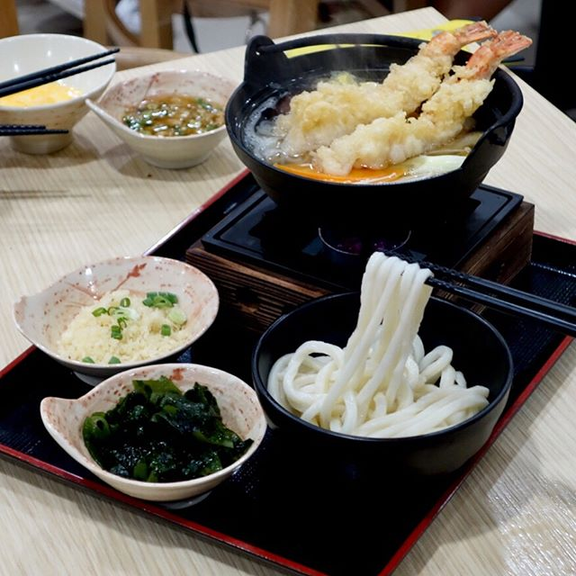 Only udon specialist place in sg, @tamoyasg has a new dinner menu!