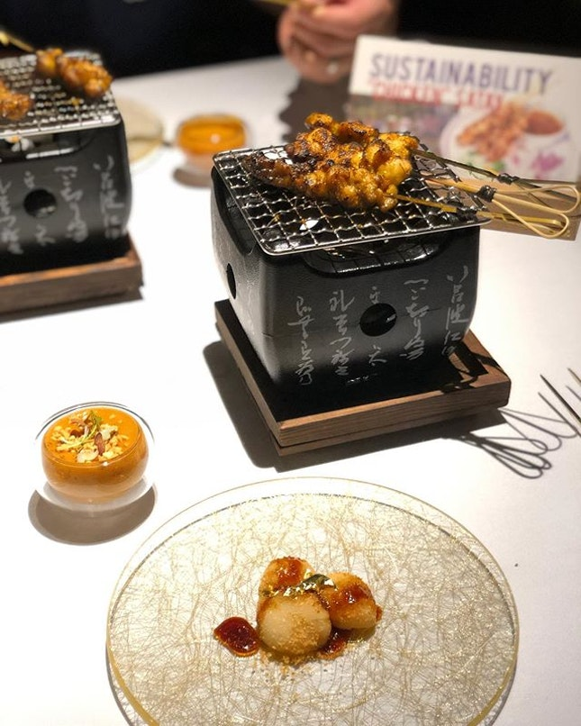 Homage to my Singapore by #cheflghan @restaurantlabyrinth .