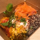 Smoked Salmon with Quinoa