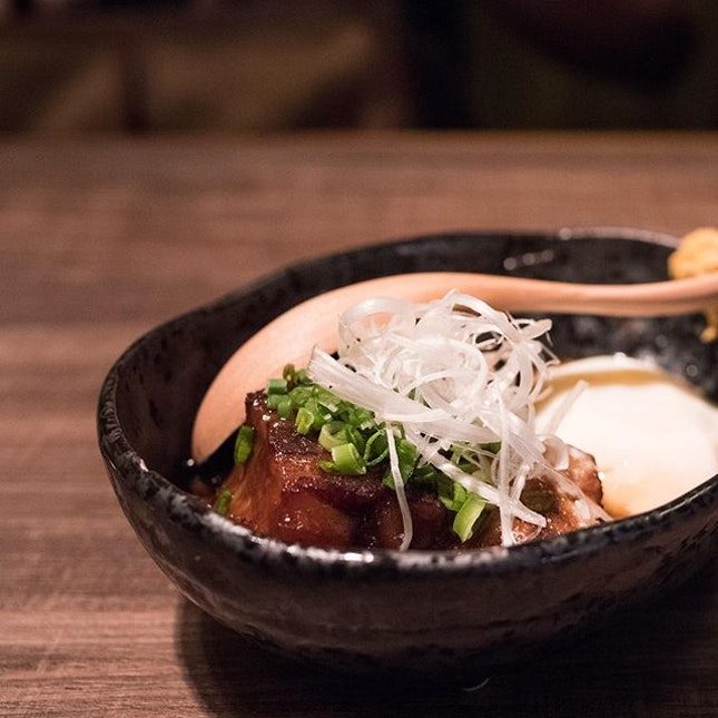 Buta Kakuni 豚角煮 | slow-simmered Iberico pork belly served with soft-boiled egg
