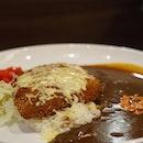 Cheese Pork Katsu Curry