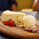 White Chocolate Yuzu Cheesecake • Light white chocolate cheesecake infused with citrus yuzu