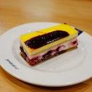Three Berries Layer Cake
