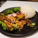 Curried Soft Shell Crab Rice