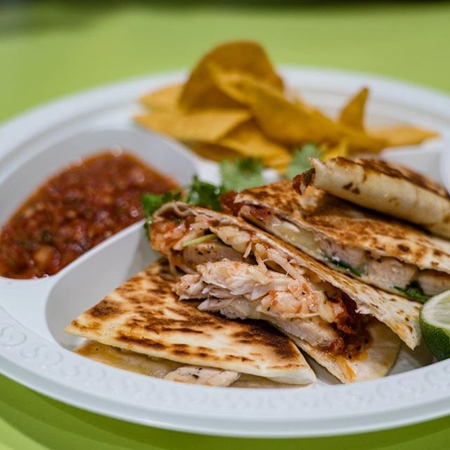 Sous Vide Chicken Breast Quesadilla