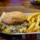 Mushroom Beef Burger