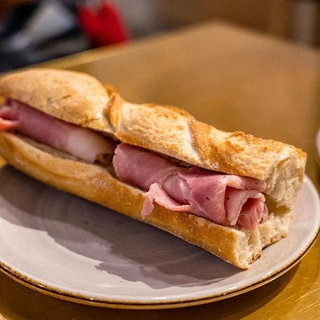 Ham & Butter Baguette