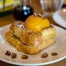 Peach & Walnut French Toast