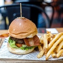 Charcoal Grilled 'The Boss' Burger