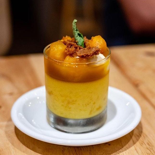 Mango Sweets Jar | fresh mango, mango pudding, cookies, cream cheese mousse