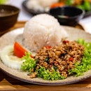 Thai Basil Chicken with Rice