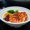Salmon Mentaiko Bowl
