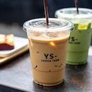 Ice Thai Coffee & Ice Matcha Latte