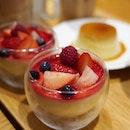 Hokkaido Citrus Panna Cotta with Mixed Berries