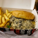 Burger Buddies | Mushroom Beef Burger