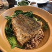 Barramundi brown rice bowl
