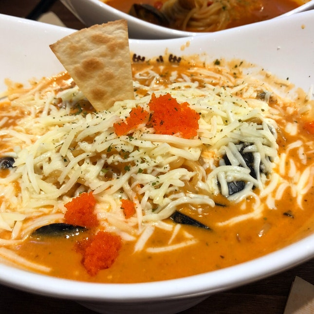Jjampong With Italian Flavours
