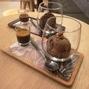 Very Intense Chocolate And Chocolate Affogato
