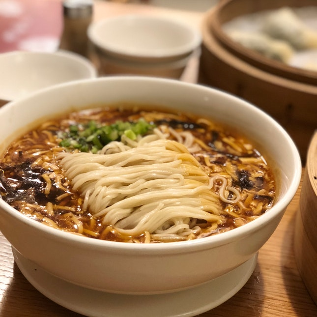 Hot & Sour Noodle Soup
