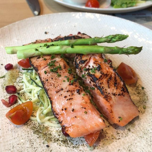Miso-glazed Norwegian Salmon
