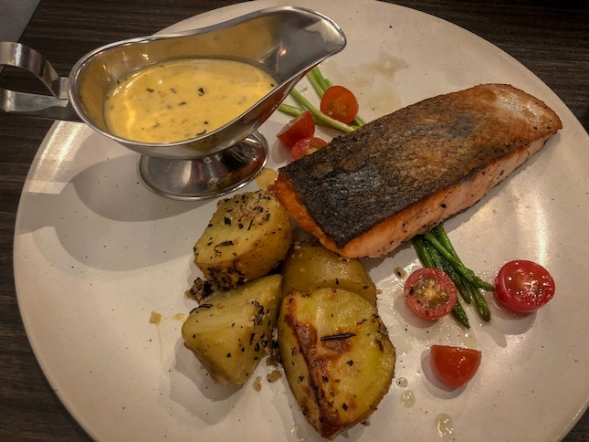 Salmon Steak (S$19.80)