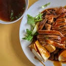 Braised Duck Rice set (S$5.00)
