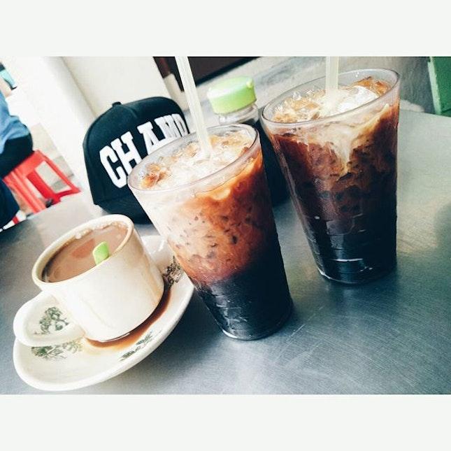 Tea time in Georgetown,  Penang.