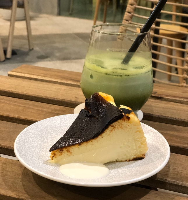 Try The Burnt Cheesecake