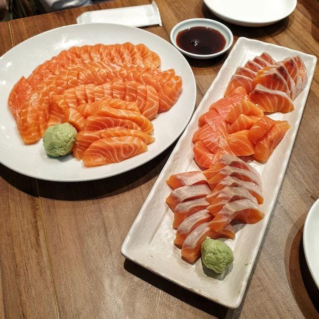 $3 For 5 Salmon Sashimi Slices