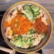 Salmon Mentaiko Rice ($20++)
