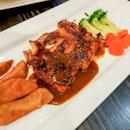 Grilled Thyme Boneless Chicken Thigh