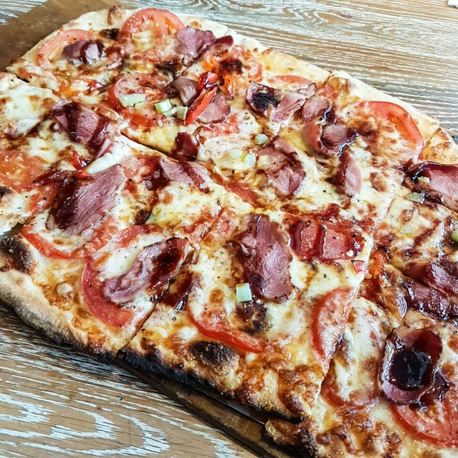 Smoked Duck Breast Pizza