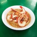 Big Prawn Noodle (Soup)