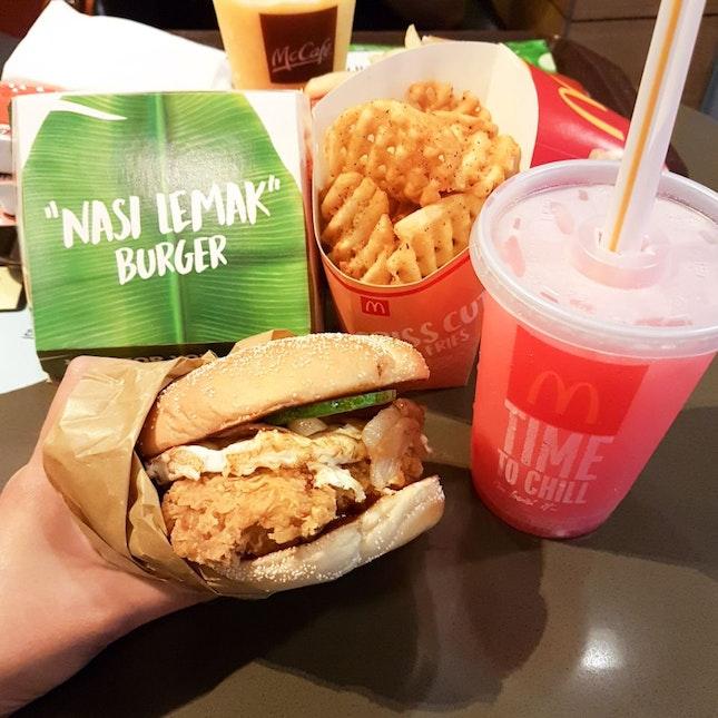 """""""Nasi Lemak"""" Burger"""