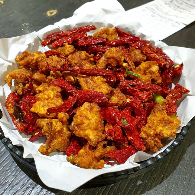 Sze Chuan Chicken四川辣子鸡