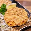 Crispy Salmon Mentaiyaki