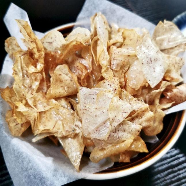 Crispy Yam Chips