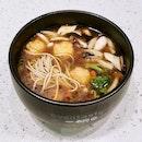Vinaigrette Ebiko Prawn Paste Noodle in Herbal Soup