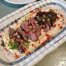Hummus w/ Steak