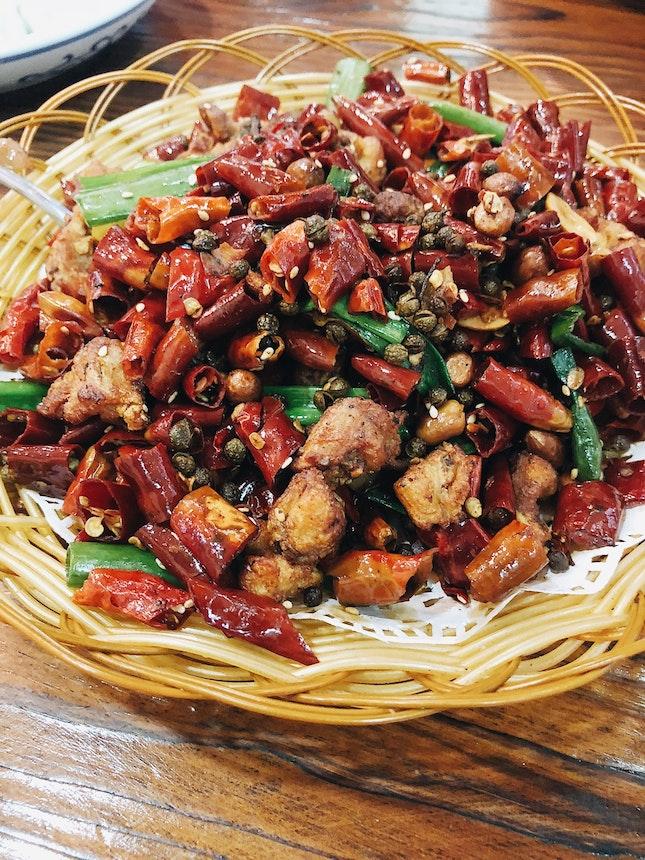 Spicy Crispy Chicken 辣子雞