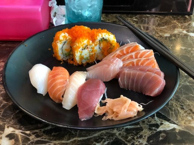 Sushi Sashimi Udon Set 17.90$