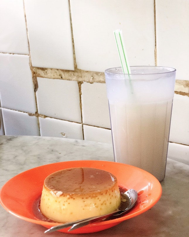 Egg Custard!! One Of The Must Eat For Ipoh