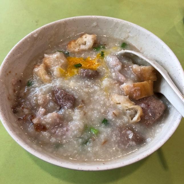 Pork & Liver Porridge ($4)