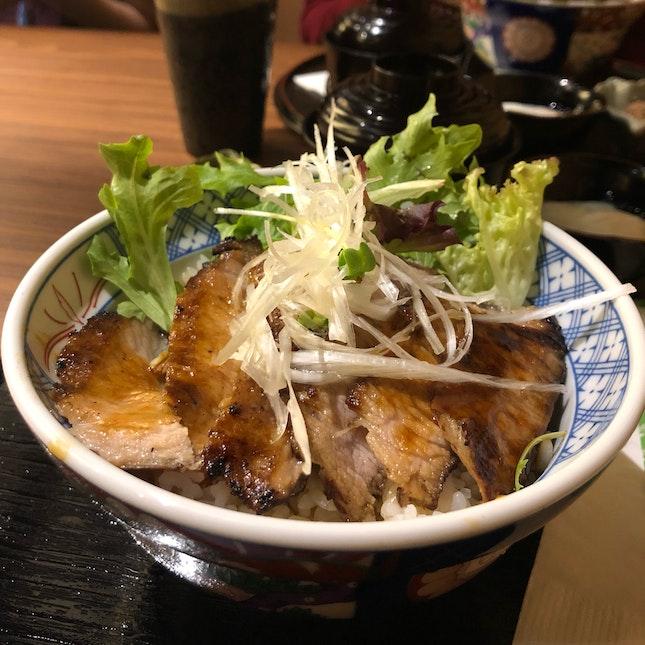 Kurobuta Hoho Don ($16)