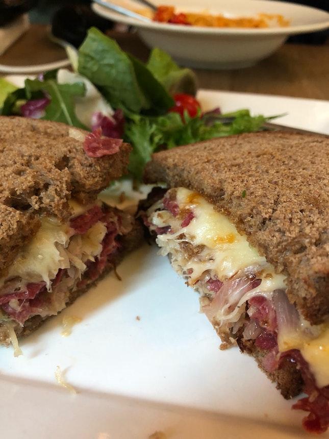 Hot Reuben Sandwich $19