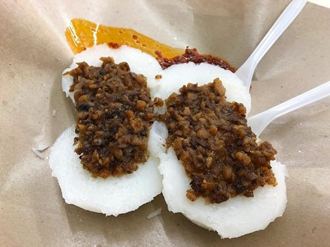 Have you tried Chee kueh with raddish and Muay chai?