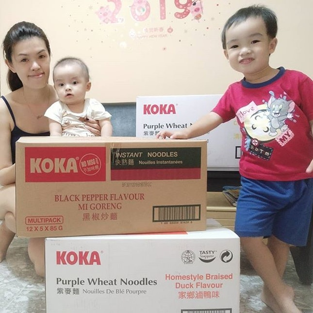 Thank you @theofficialkoka for delivering their yummy noodles to me!