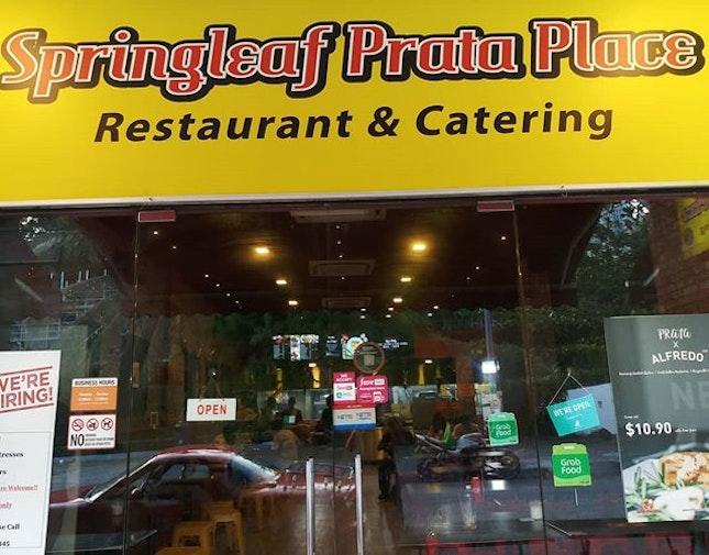 Springleaf Prata Place @ The Rail Mall 27/05/19